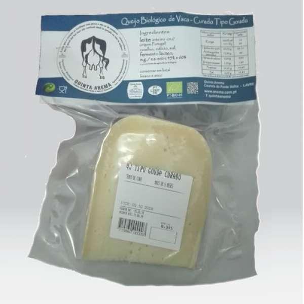 Queijo Vaca Bio tipo Gouda, Cura 20 s