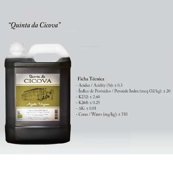 Azeite Virgem Qt Cicova Bio, 5 L