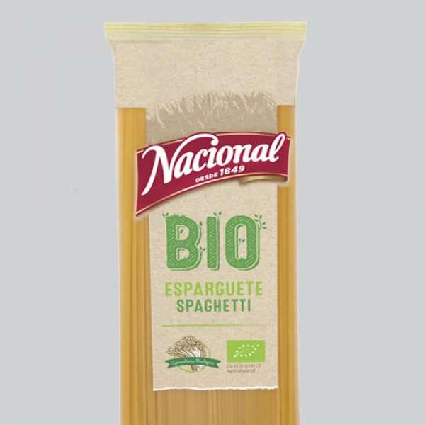Esparguete Bio 500gr, Nacional
